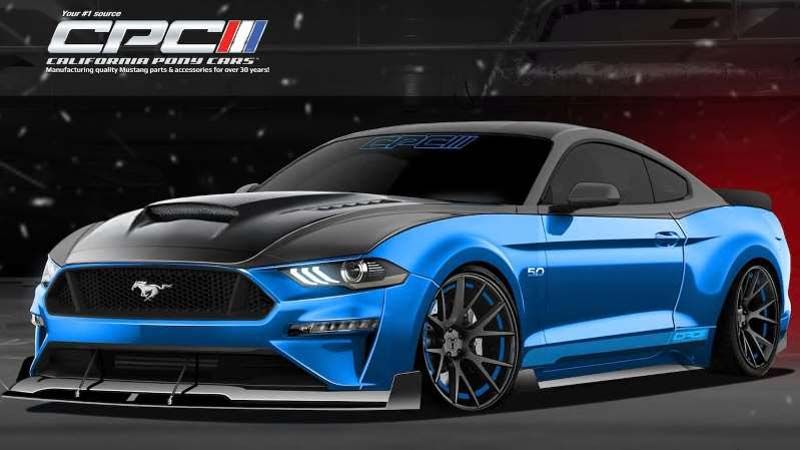 Custom Ford Mustangs And F 150s Show Two Kinds Of Performance At