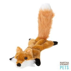 Martha Stewart Pets Flatty Fox Dog Toy Toys Petsmart Dog
