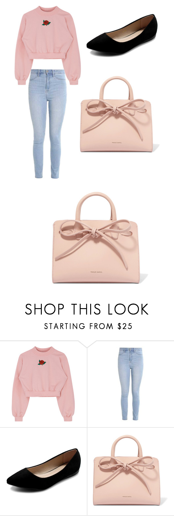 """""""Slay2"""" by yasminbendinha ❤ liked on Polyvore featuring Hollister Co., Ollio and Mansur Gavriel"""