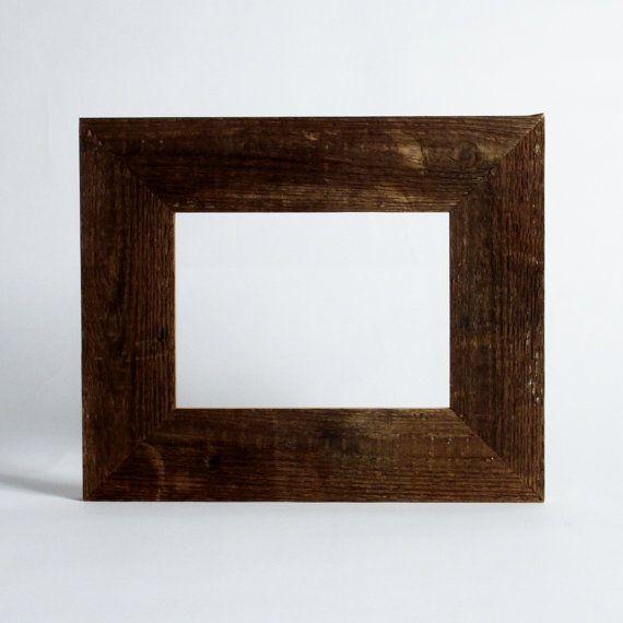 Barnwood Frame, reclaimed wood rustic decor christmas gift, 5x7 ...