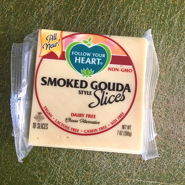 Follow Your Heart Gouda Slices Are A Great Everyday Vegan Cheese Option Vegan Cheese Vegan Condiments Cheese Alternatives