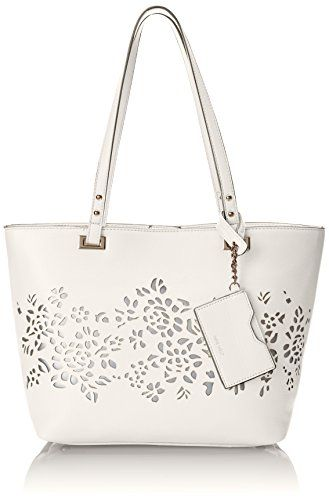Nine West Ava Tote Shoulder Bag, Snow Petal, One Size