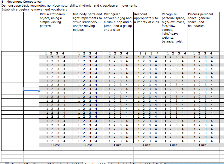 Standard Based Grading Standards Outcomes Assessment Gradebook