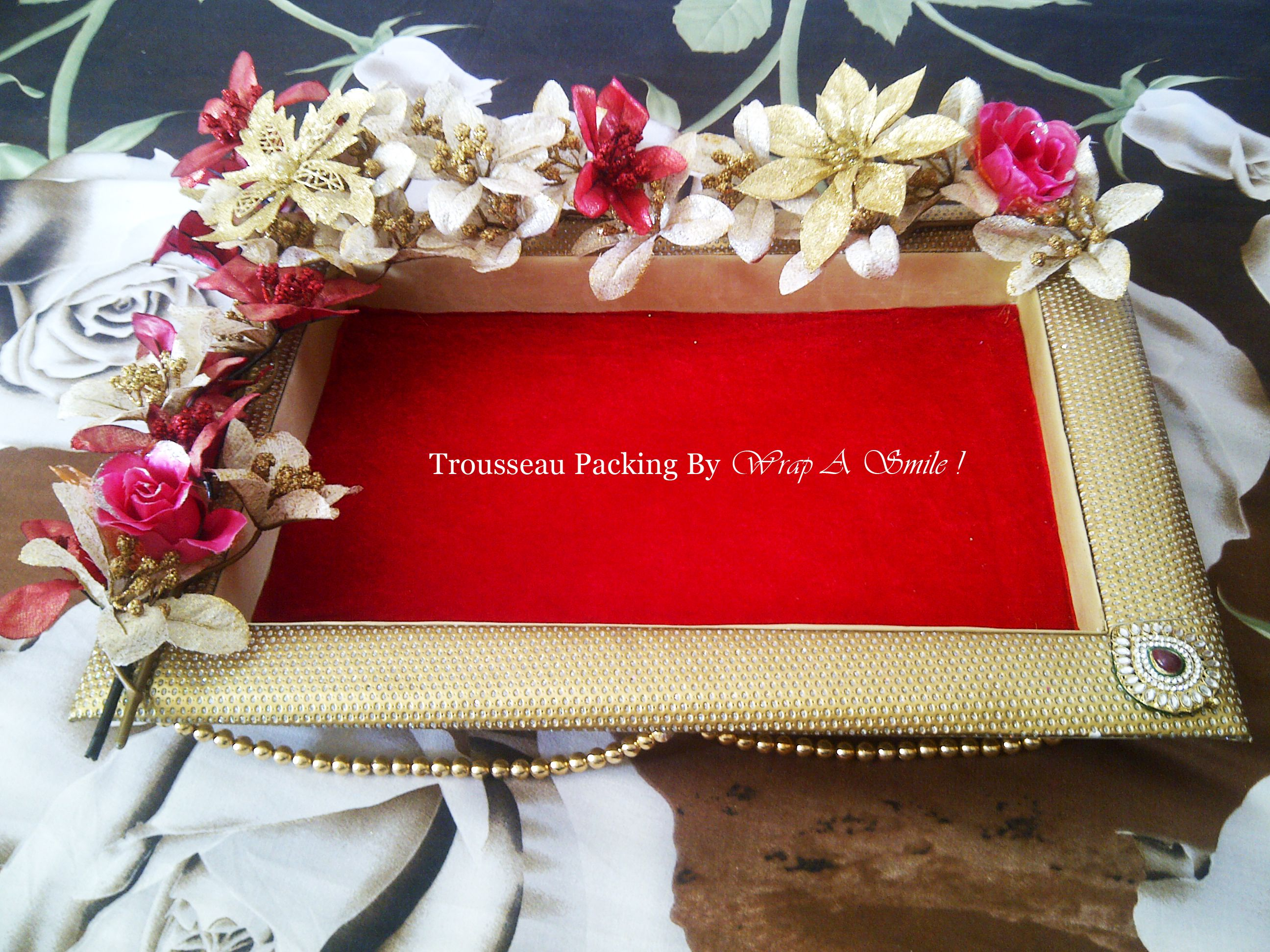 Packing Ideas For Wedding Gifts: Customized Trousseau Packing At Wrap A Smile