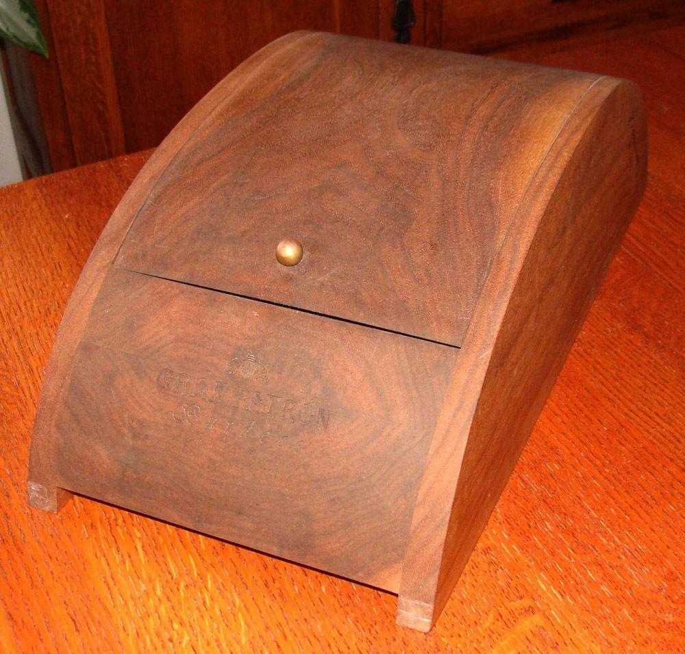 Gran Patron Burdeos Anejos Tequila Black Walnut Signed Box Ltd Ed #3193 #Granpatron