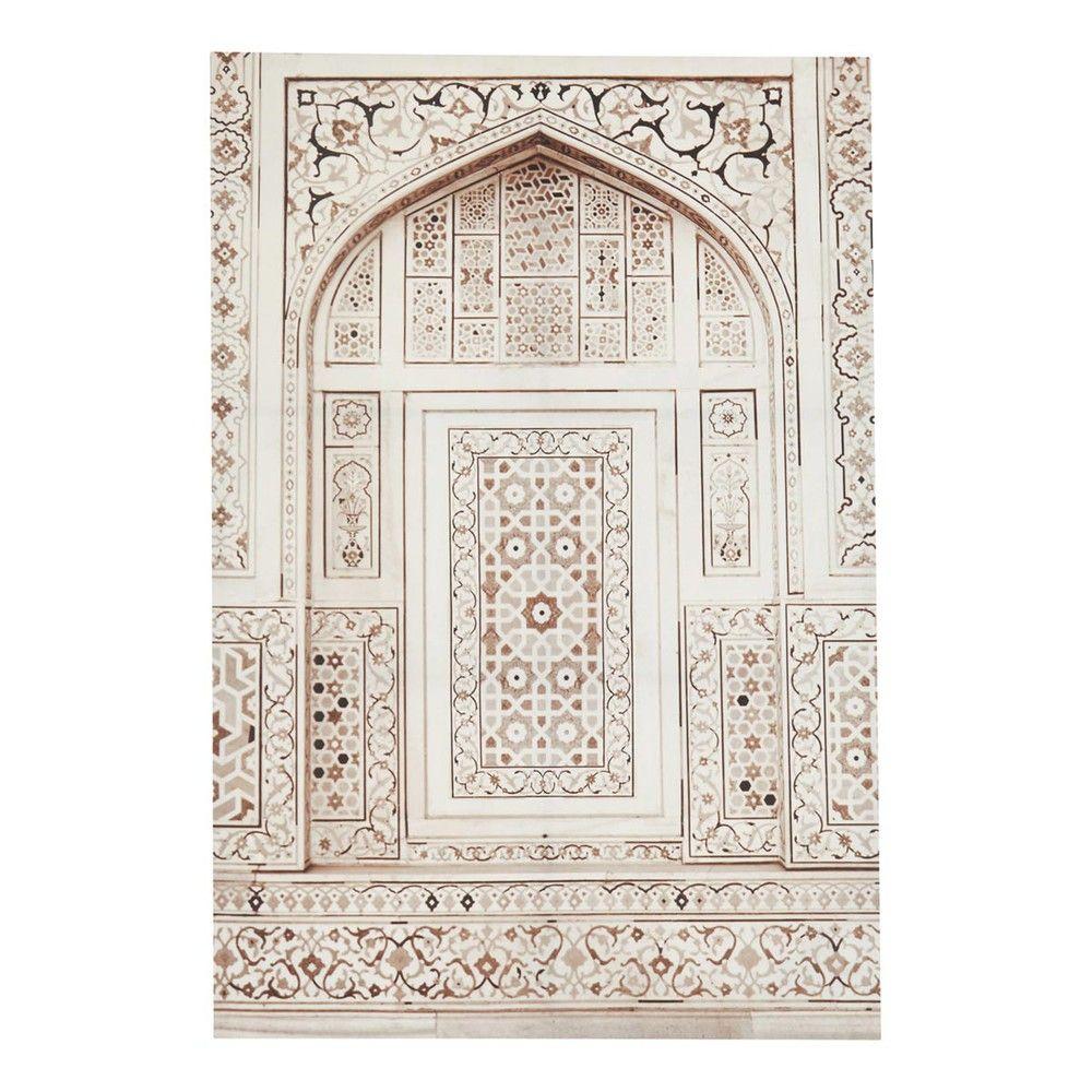 Maison Du Monde Toile Porte Orientale Meknes 40 Salle De