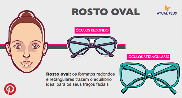 f52cf87a21e7b ROSTO OVAL - Usar óculos de grau ou de sol, pode ser muito estiloso!! Para  que um acessório desse possa