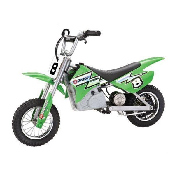 Razor Mx400 Dirt Rocket 24v Electric Toy Motocross Motorcycle Dirt Bike Green Electric Bike For Kids Cool Dirt Bikes Dirt Bikes For Kids