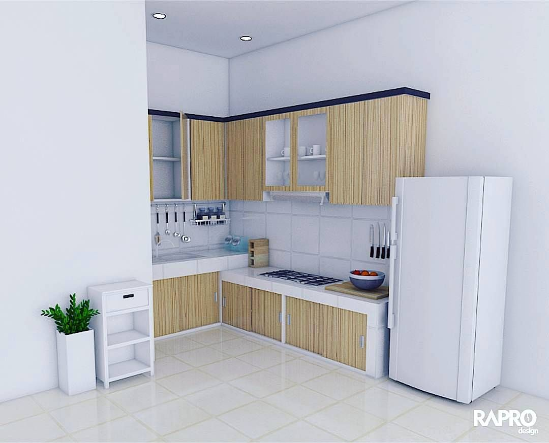 Gambar kitchen set minimalis 2017 dapur minimalis idaman for Design kitchen set minimalis