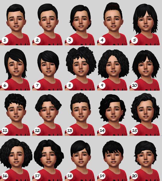 Tumblr in 2020 Sims 4 toddler, Sims 4 hair male, Sims hair
