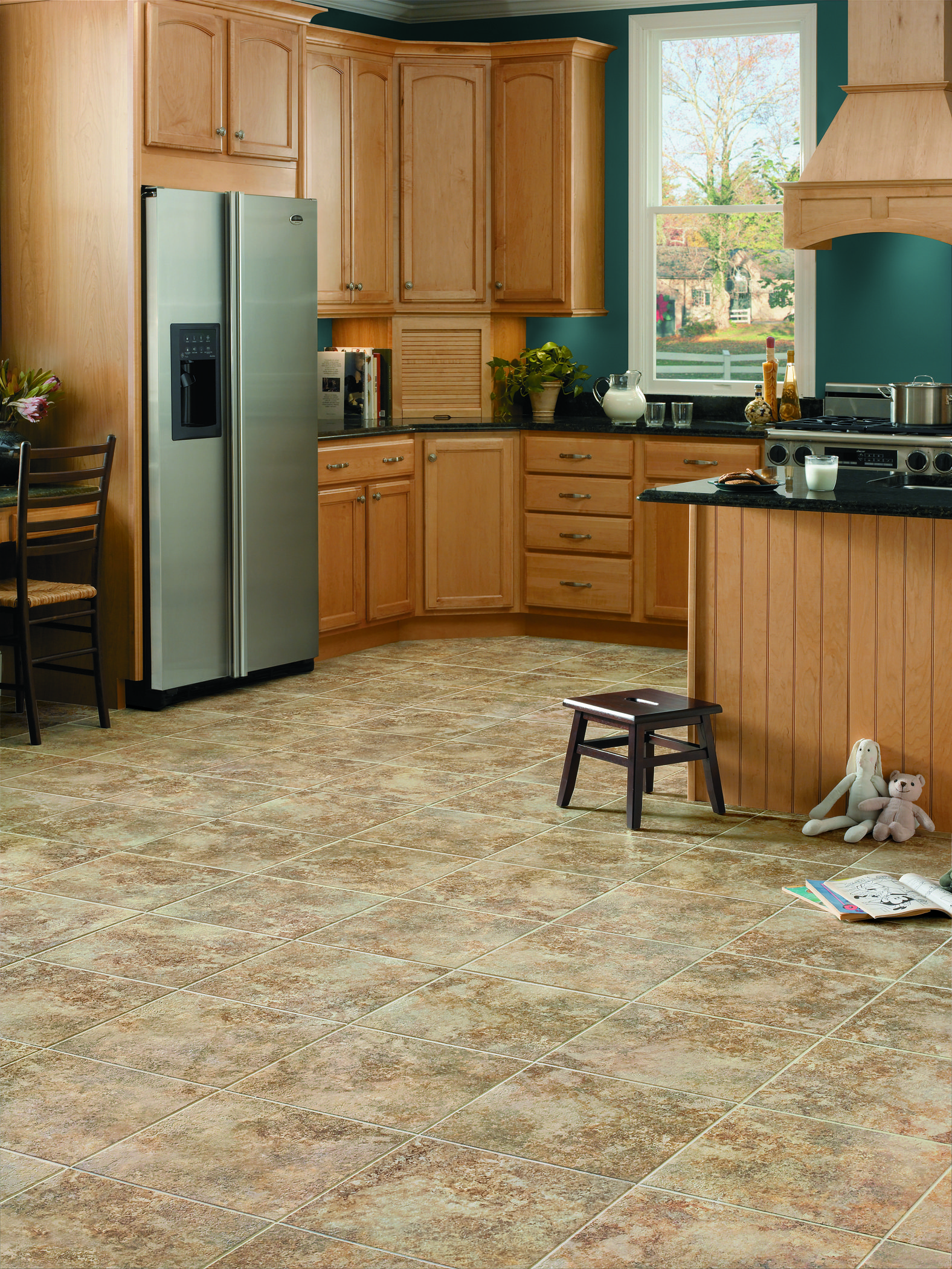 Rapolano in Desert Chimney Cleaning vinyl floors, Vinyl
