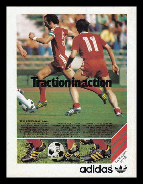 Adidas, 1977   Adidas soccer shoes, Adidas football, Vintage