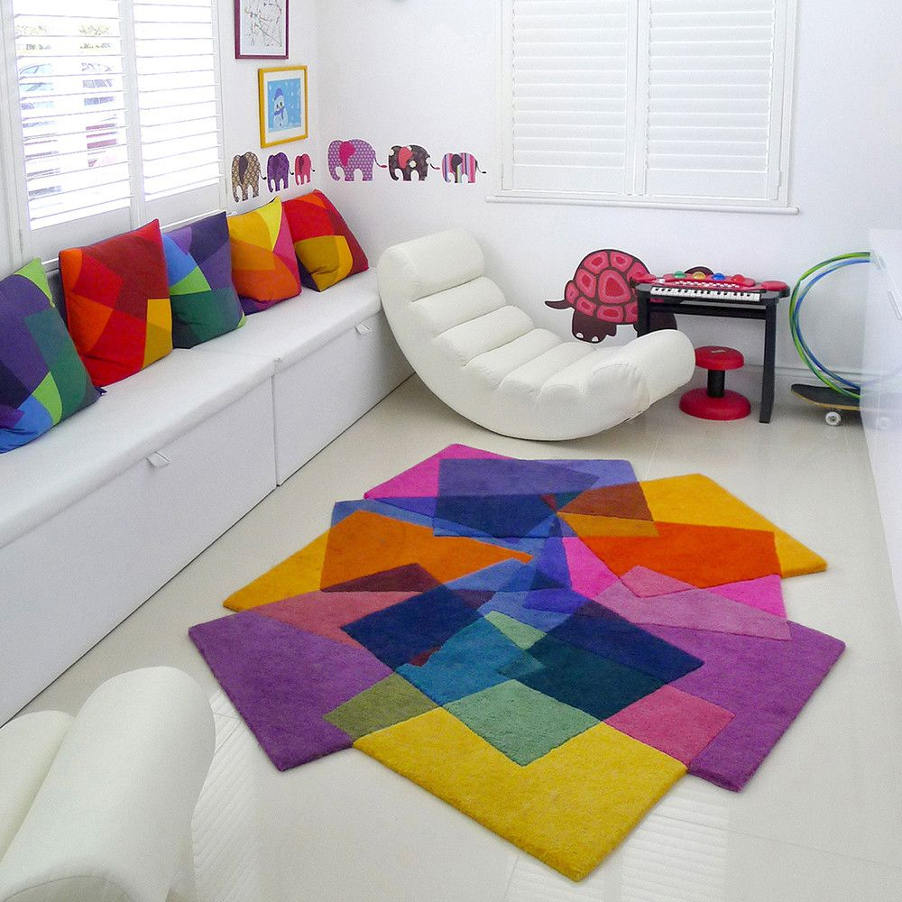 Small Large Pink Rug Cerise Runners Sparkle Modern Thick: After Matisse Rug