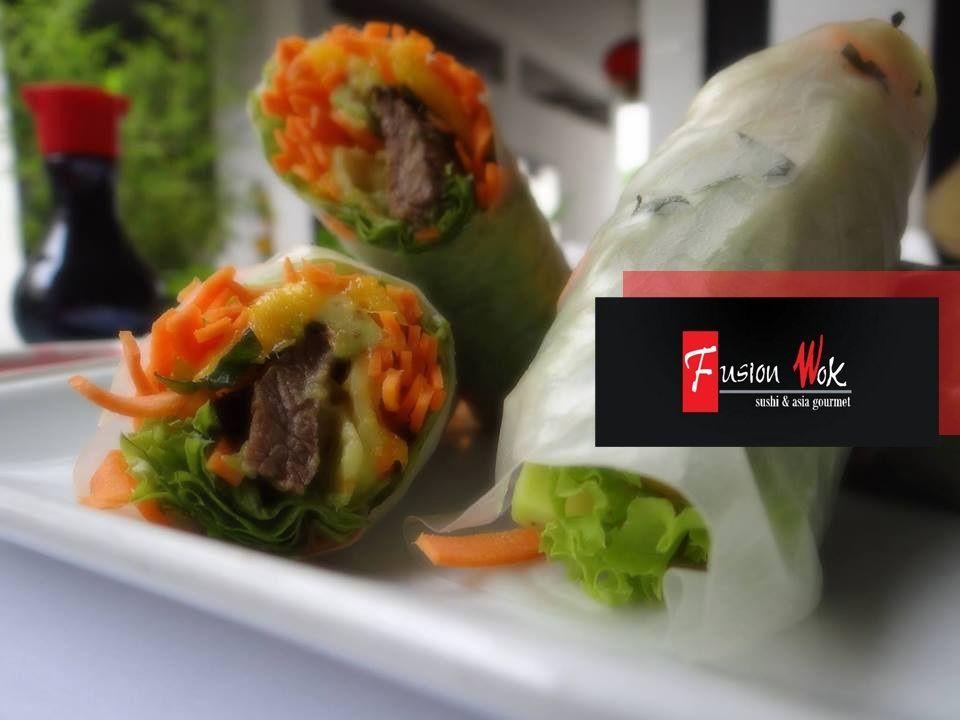 Entradas al estilo Fusion Wok. #restaurante #comidaoriental #comidaasiatica #asia #platos #food  #fusionwok