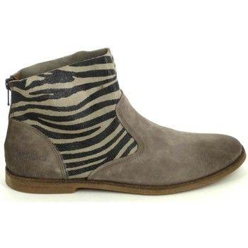 fbe076f8d095e9 Boots+Kickers+Roxanna+Beige+Imprimé+85.41+€   Fringues   Boots ...