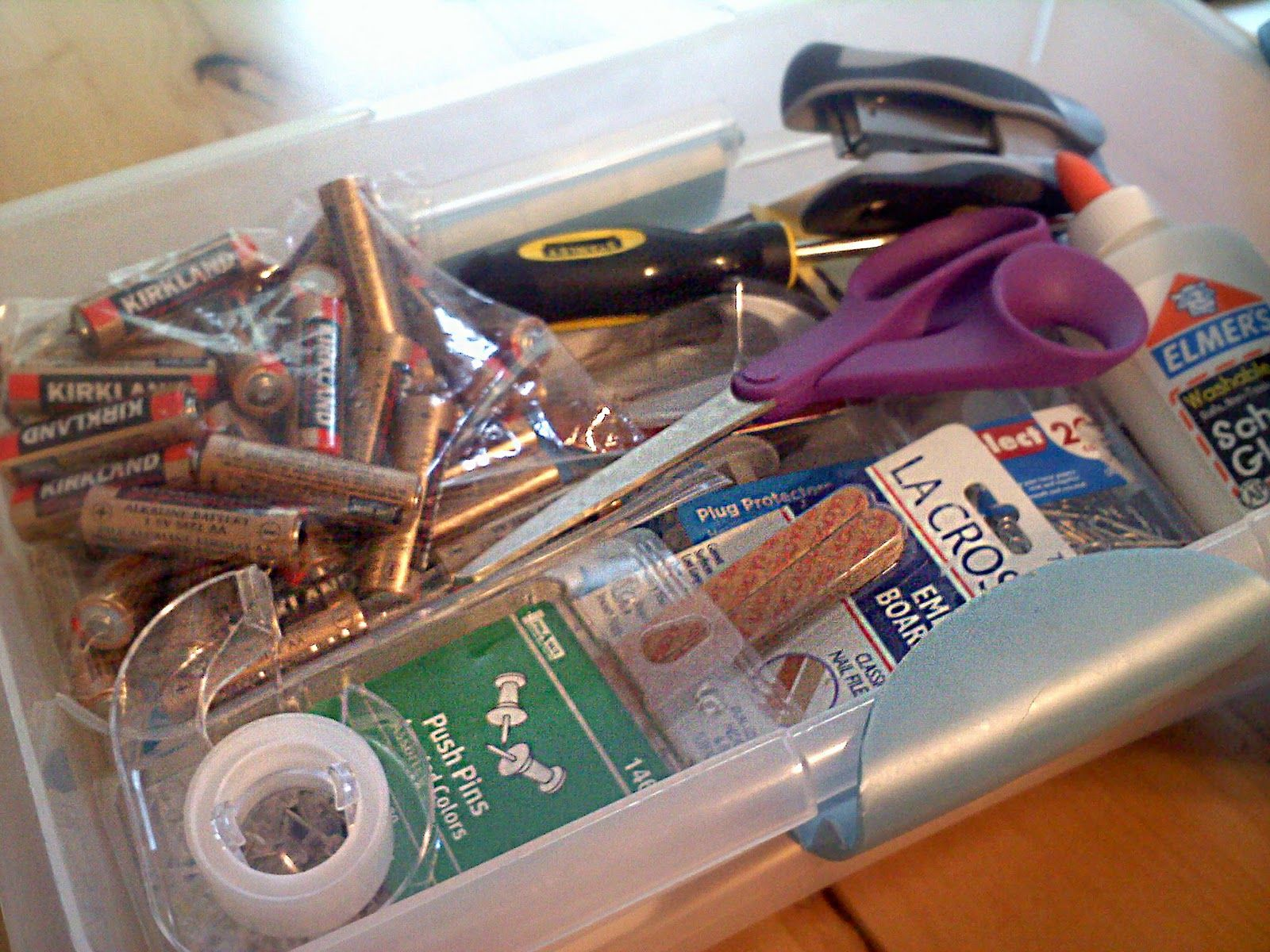 darling doodles: gift ideas - ready made junk drawer for newlyweds