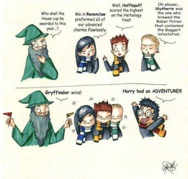How The House Cup Is Awarded Harry Potter Funny Harry Potter Memes Hogwarts