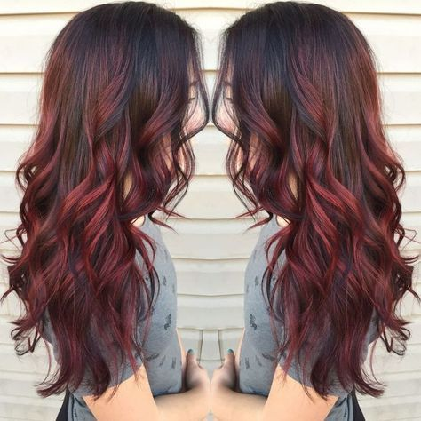 Balayage Rouge Auburn Hair Ideas Red Balayage Hair