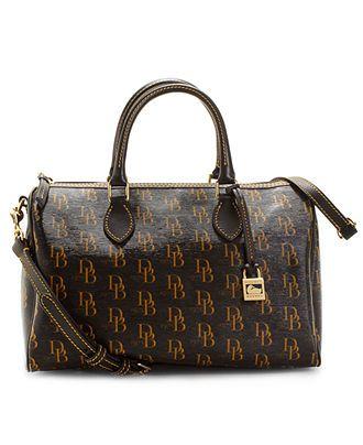 Dooney Bourke Handbag Signature 1975