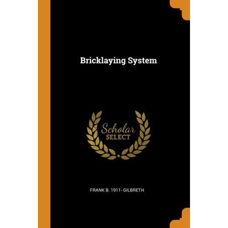 Bricklaying System (Paperback)