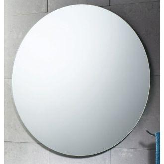 Vanity Mirror 26 X 26 Inch Round Polished Edge Vanity Mirror Gedy