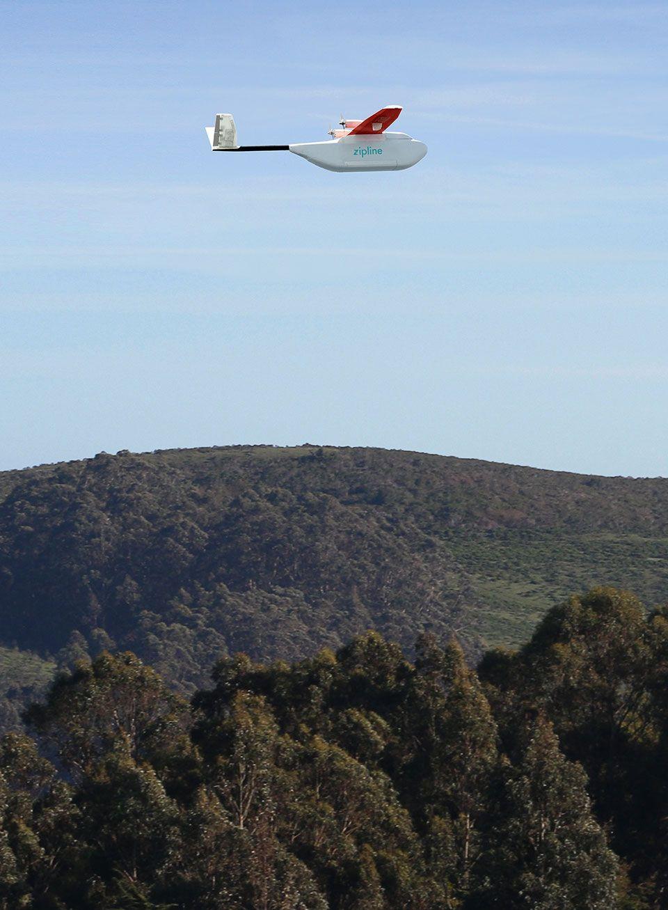Zipline Is Using Drones To Deliver Medicine In Rwanda