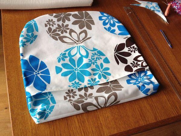 tuto couture : housse pour galette de chaise sur cmoikikou