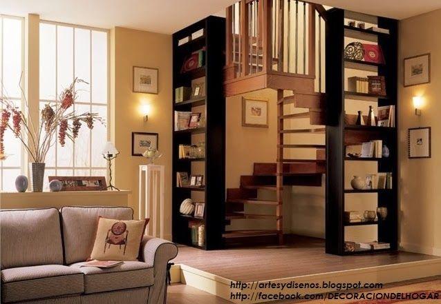 10 modelos y tipos de escaleras para interiores by for Decoracion de escaleras interiores