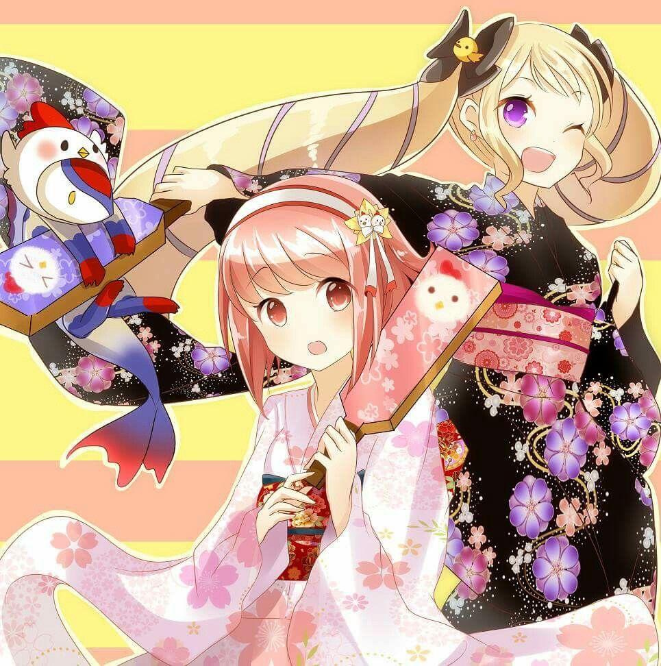 Sakura and Elise | Fire Emblem Fates | Pinterest | Fire