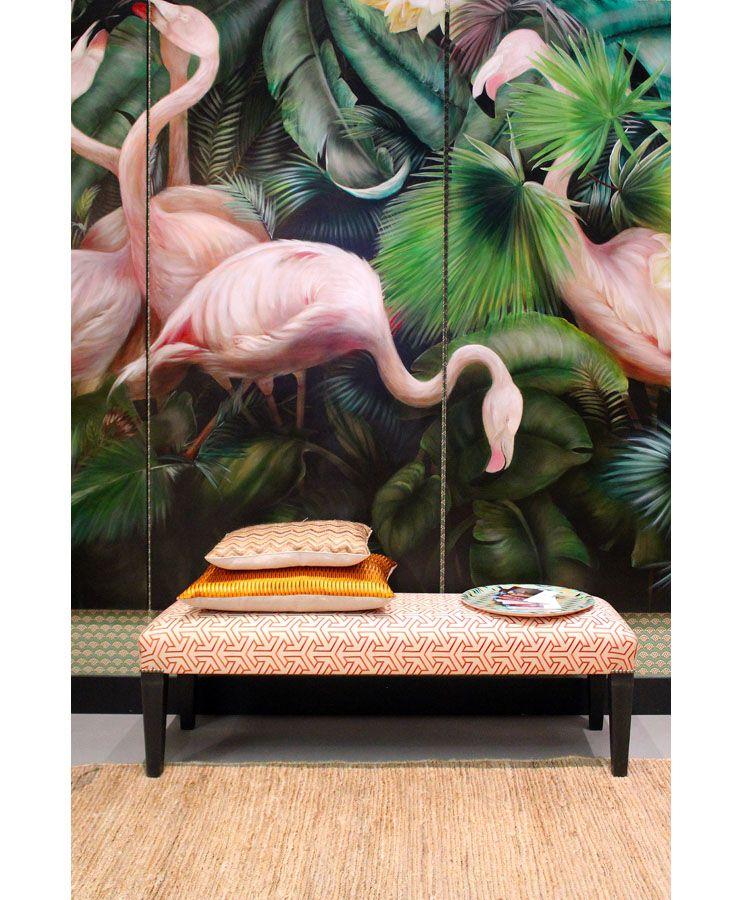 Weekend Wooninspiratie Interior Junkie Tropische Interieur Tropische Decoratie Behang