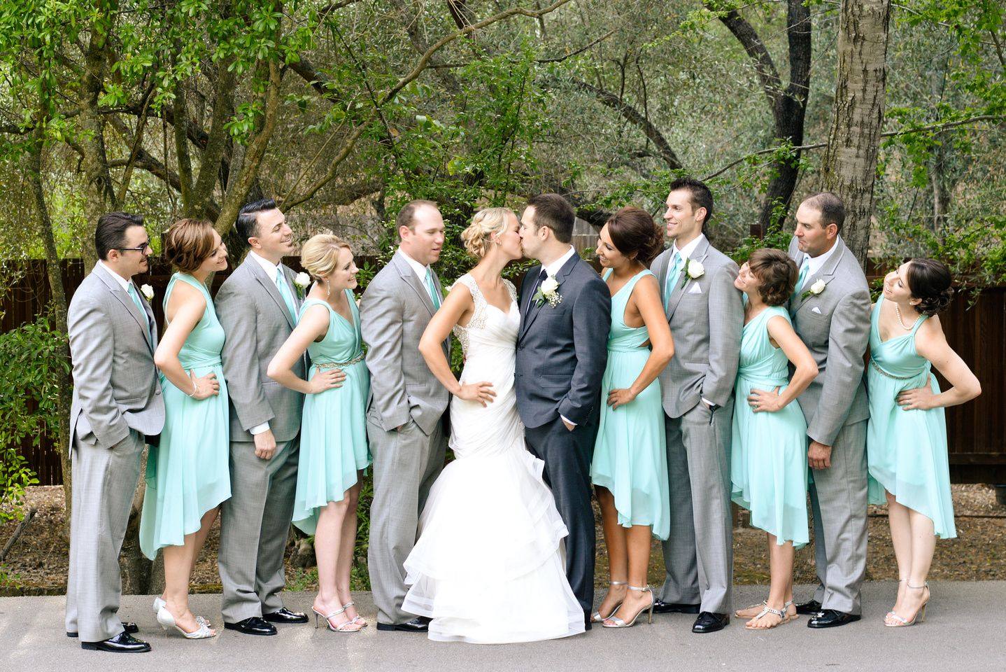 Mint Green Bridesmaid Dresses By Lhc Couture Www