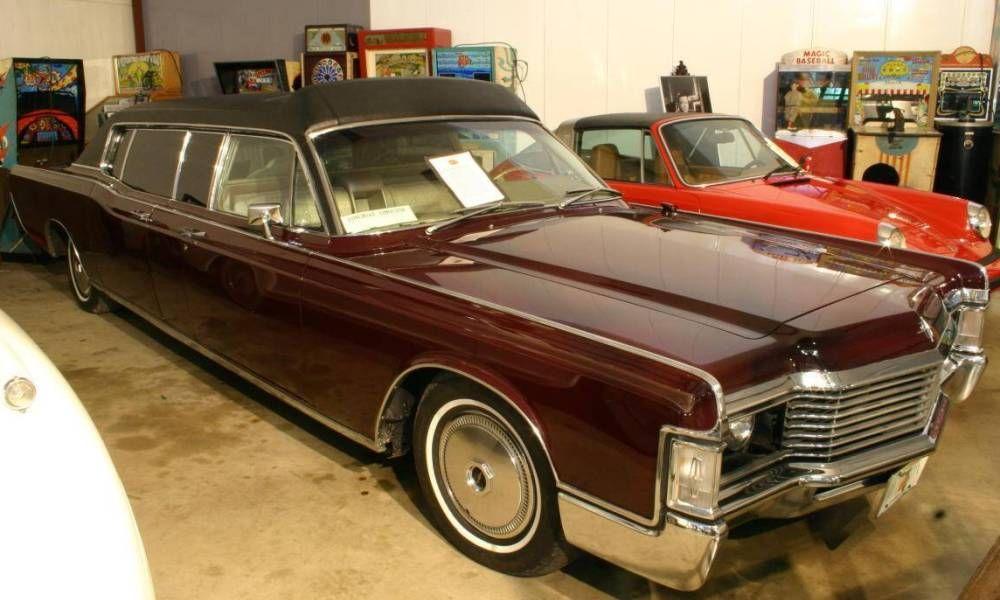Custom 1969 Lincoln Continental Limousine - Jackie Gleason ...