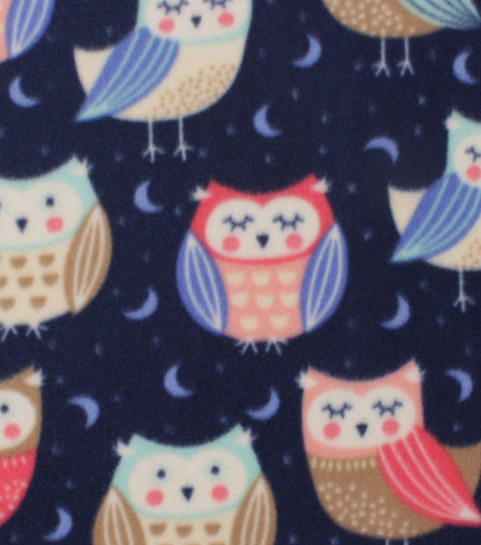Blizzard fleece fabric sleeping owl hedgie stuff pinterest