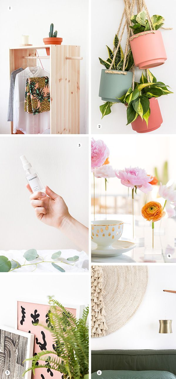 Ideas : 6 DIYs to Try This Weekend