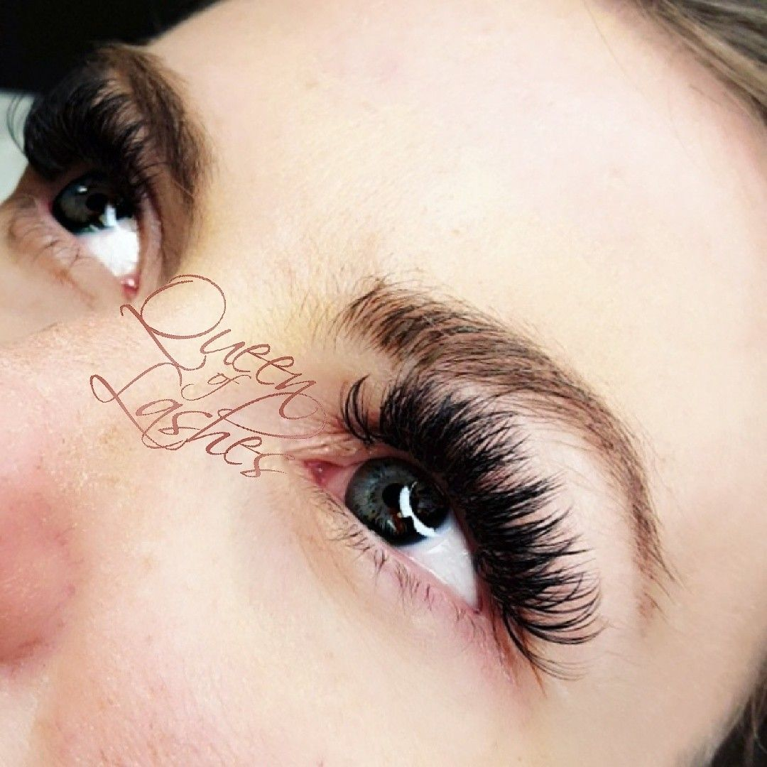 782c3bc4e10 Queen of Lashes Mega Volume Eye Lash Extensions I used .03 Lashes to create  this