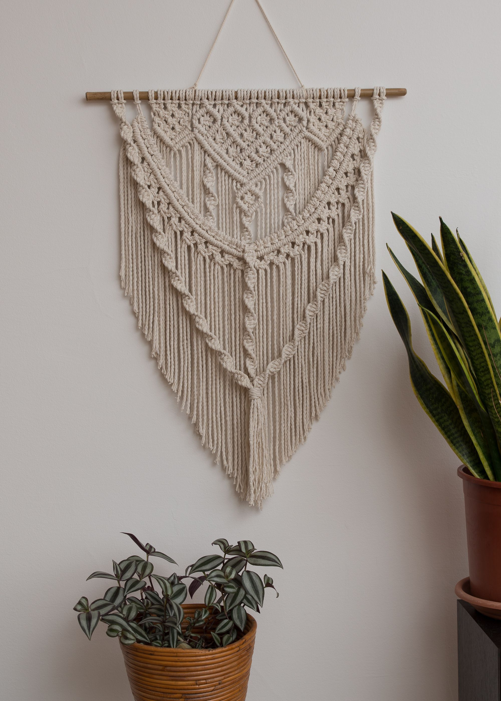 Photo of Macrame Wall Hanging, Large Macrame, Boho Decor