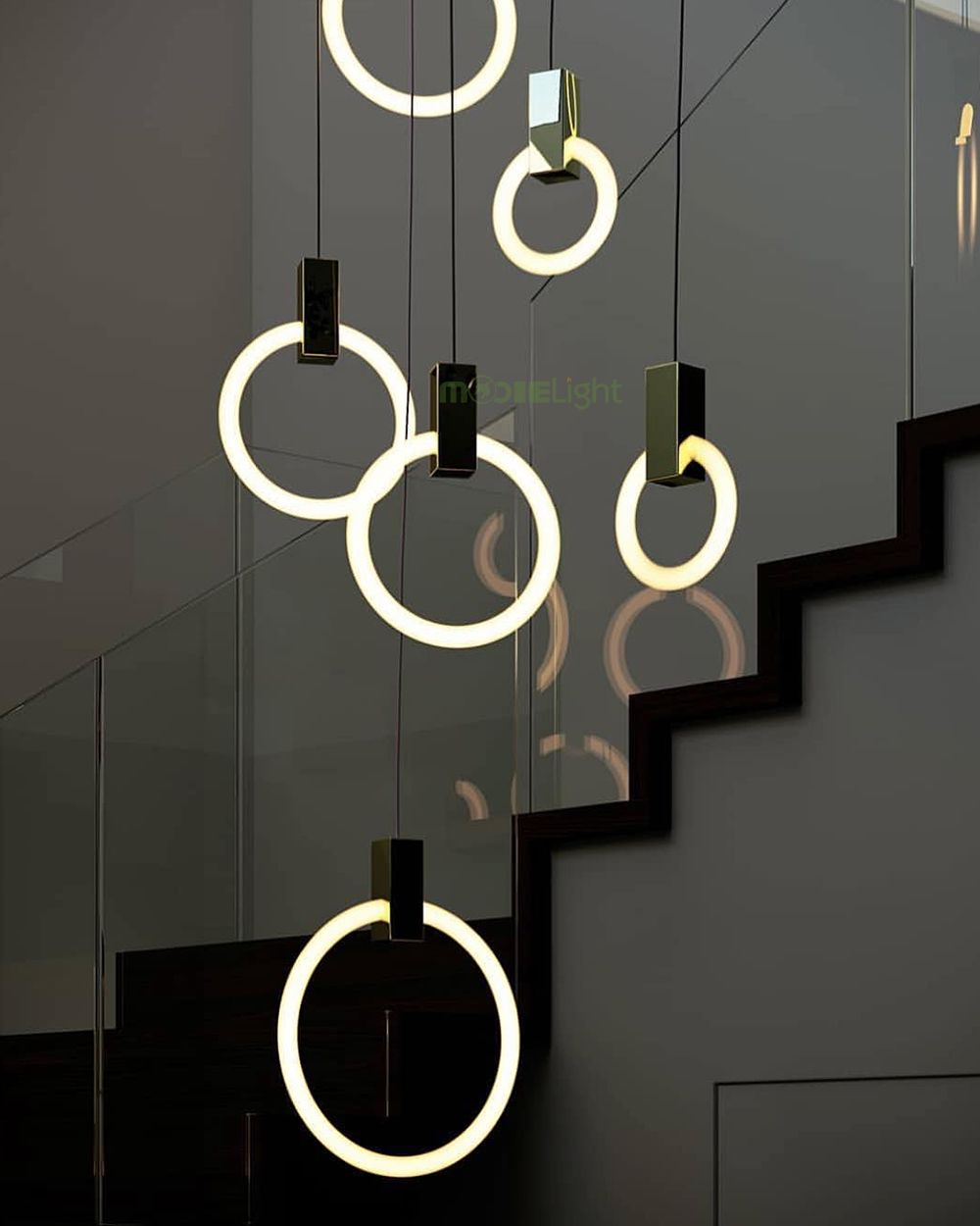 Modern Led Pendant Lamps For Dinning Room Fluorescent
