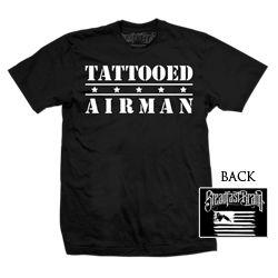 Mens Tattooed Airman