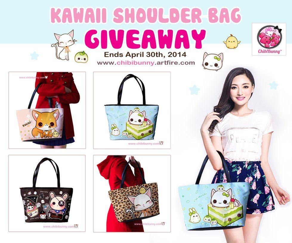 Kawaii shoulder bag giveaway by tho-be on deviantART