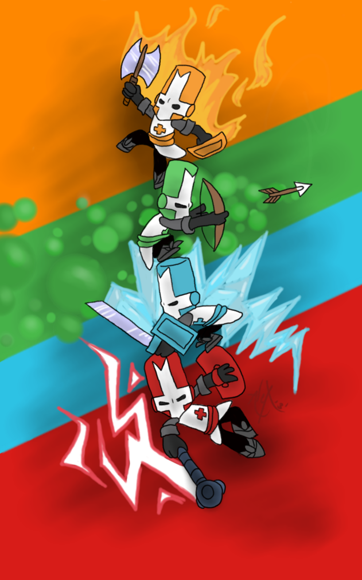 Castle Crashers By Insomnioid On Deviantart Castle Crashers Castle Game Pictures