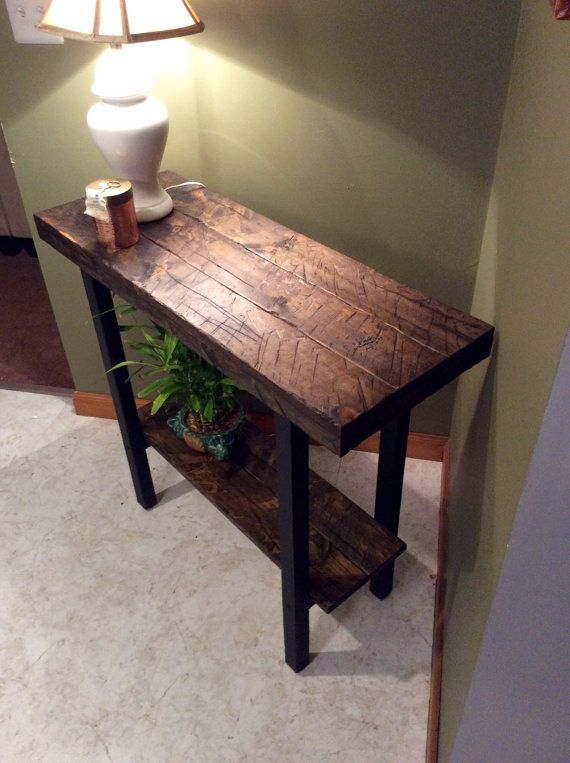 Entryway Table Foyer Table Console Table Rustic Table Sofa
