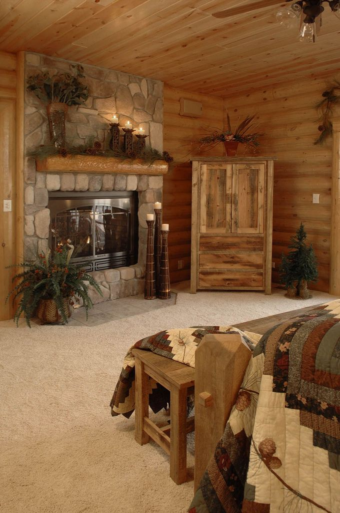 Golden Eagle Log Homes Cabin Fever Pinterest