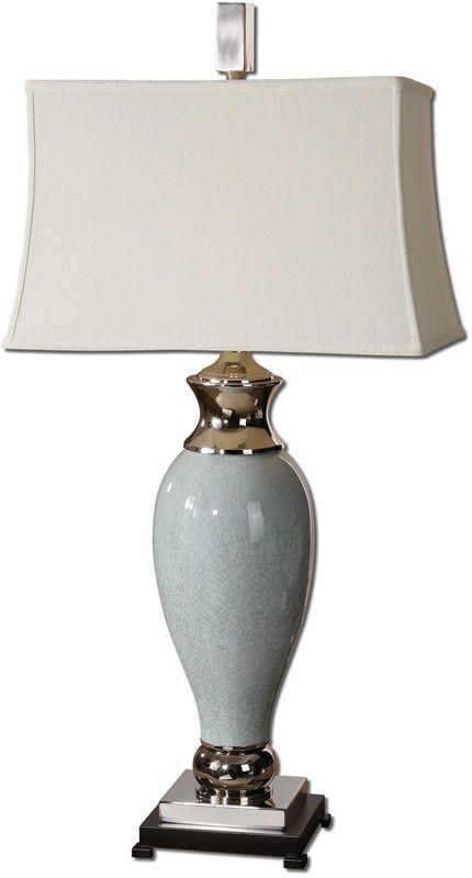 """0-003645>39""""""""h Rossa 1-Light Table Lamp Light Blue"""