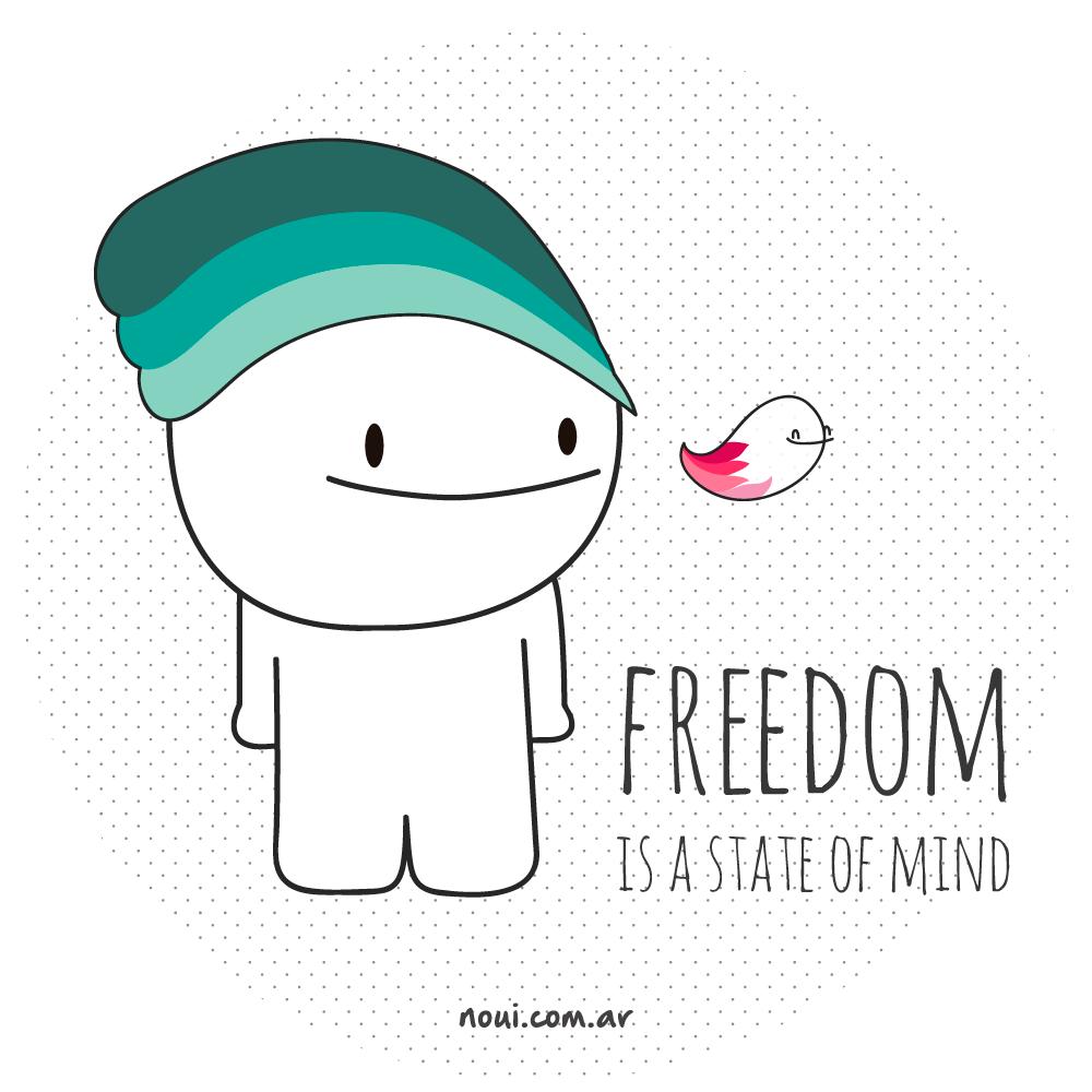 Freedom #Noui #LoDijoUnNoui www.noui.com.ar