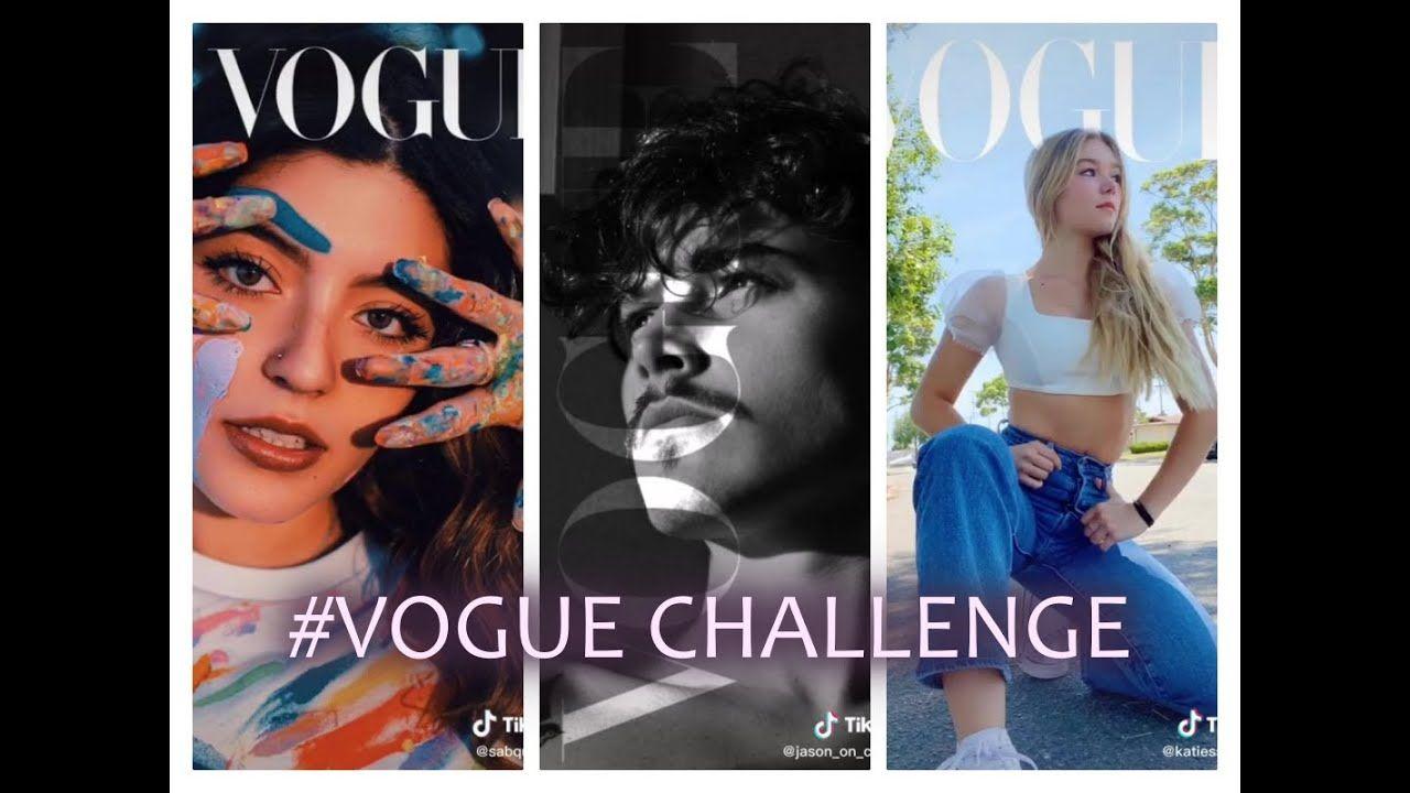 Vogue Challenge Tiktok Compilation 2020 Challenges Vogue Halloween Face Makeup