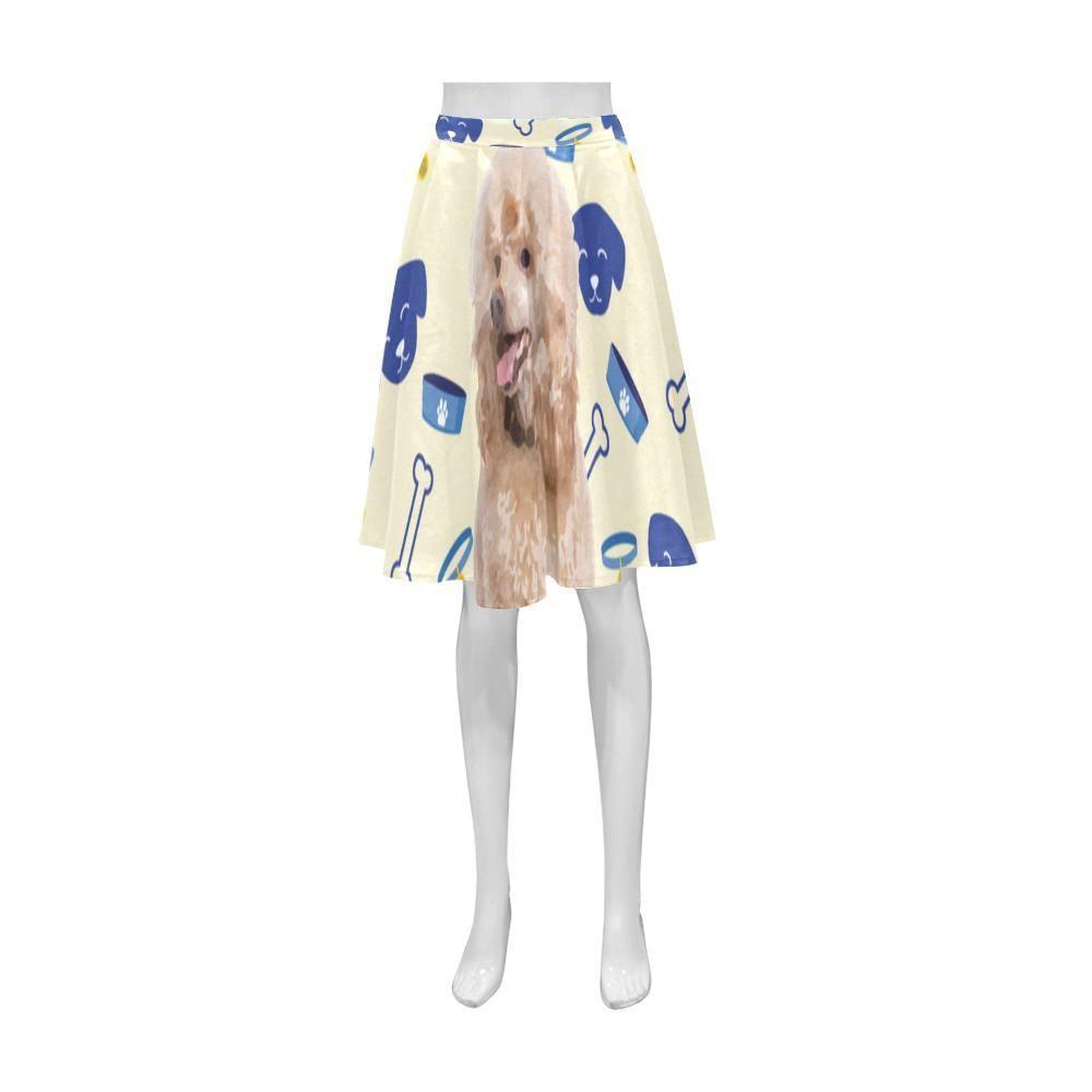 8889bfd05bb2  TeeAmazing -  e-joyer Poodle Dog Athena Women s Short Skirt - AdoreWe.