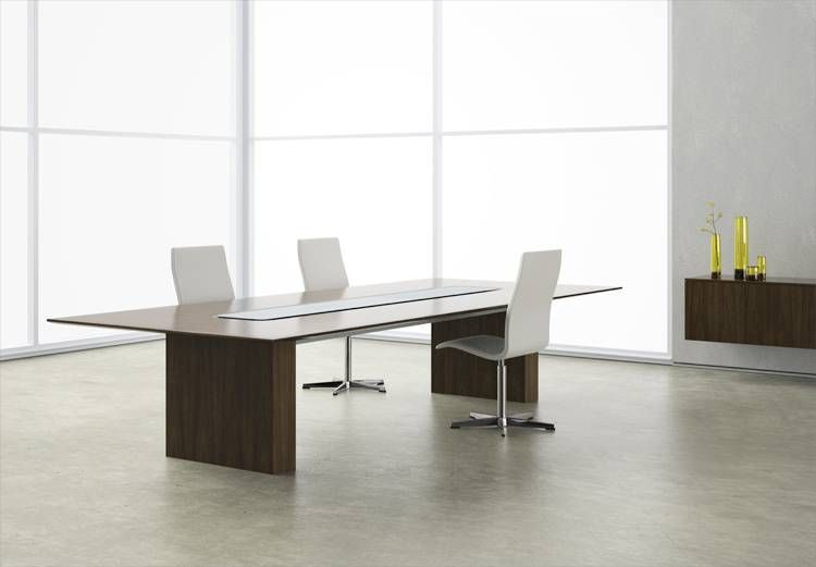 Mfr Nucraft Style Flow Approx Price 6 000 For 12 X 4 Veneer 3 Modern Office Furniture Design Modern Conference Table Contemporary Office Furniture