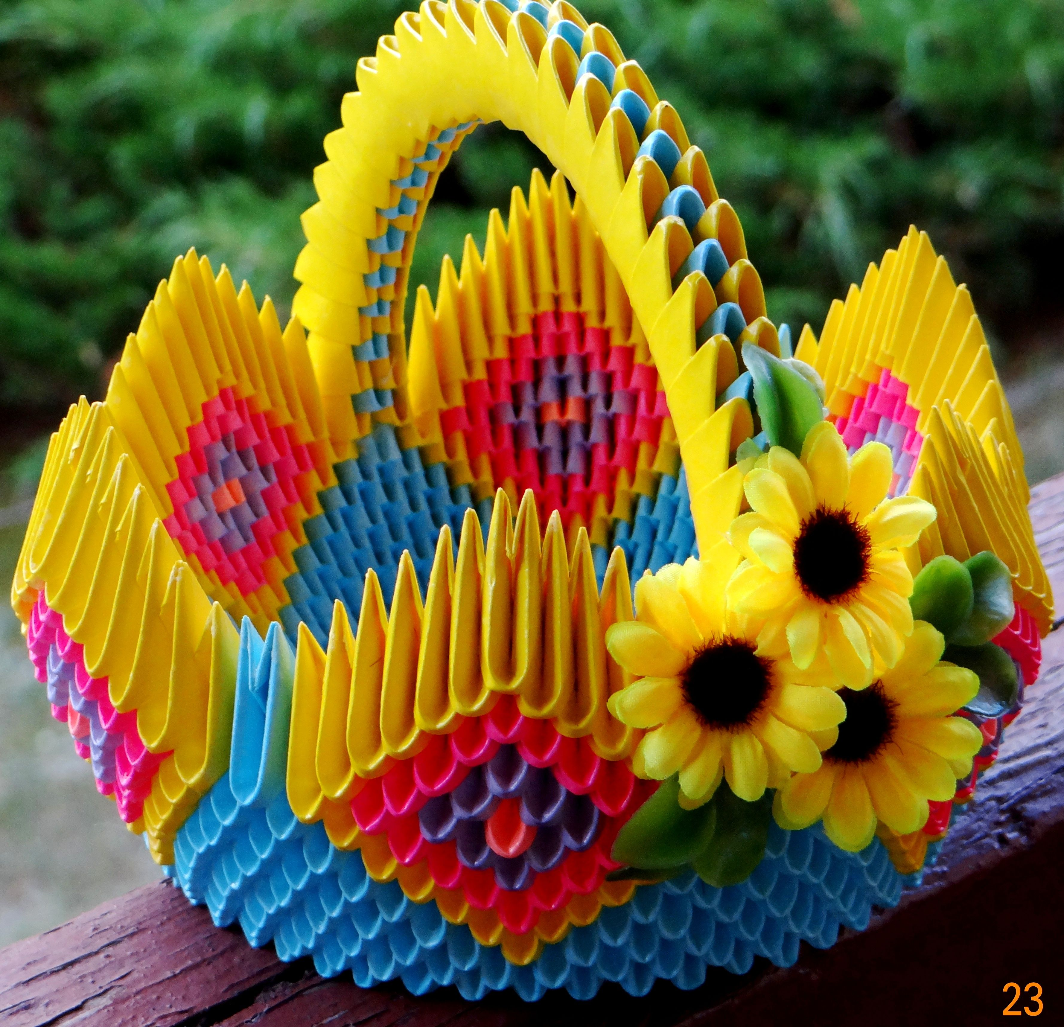 Origami Modulowe 3d Origami Origami Handmade