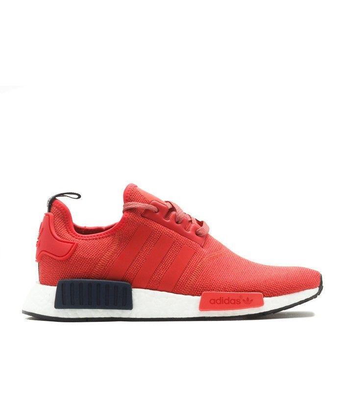 Chaussure Adidas NMD R1 W Vivid Rouge/Solar Rouge/Armée Collégiale S76013