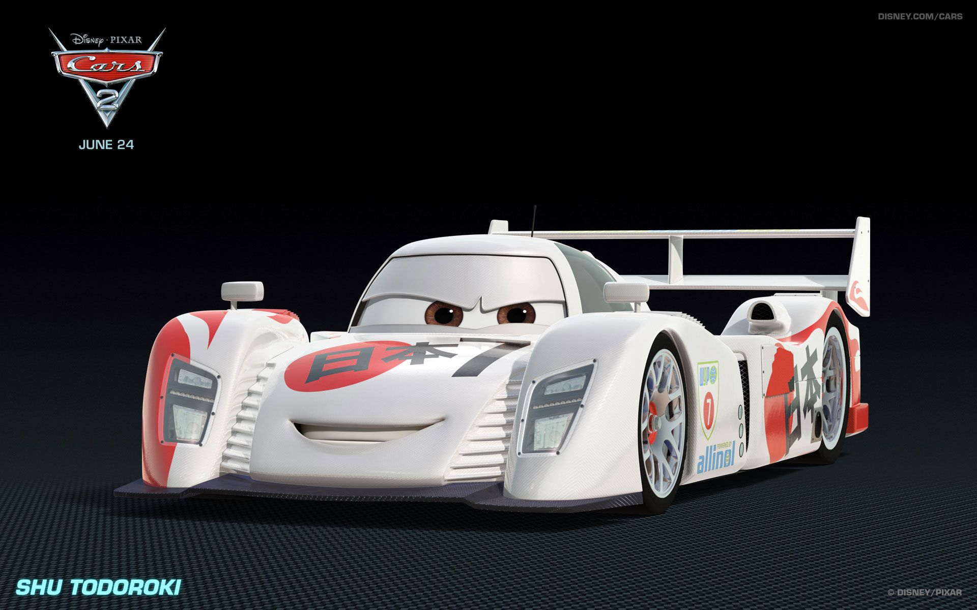 Japanese race car in cars 2 movie wallpapers 41